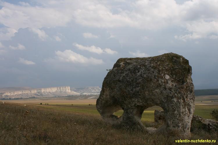Глазастый камень, Малая Сарак-кая